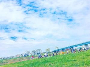 水辺YOGA@二子玉川・河川敷 @ 兵庫島公園 | 世田谷区 | 東京都 | 日本