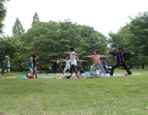 パークヨガin亀戸中央公園 @ 江東区亀戸中央公園 | 江東区 | 東京都 | 日本