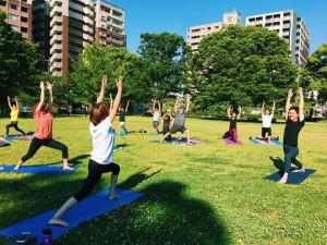 Morning PARK YOGA @熊本・白川公園(毎月最終日曜に開催☆) @ 白川公園 | 熊本市 | 熊本県 | 日本
