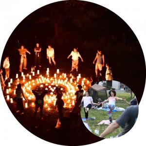 大通り公園CandleArtYoga @ 大通り公園石の広場   横浜市   神奈川県   日本