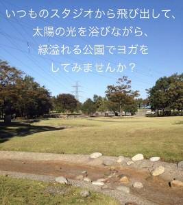 ヨガスタジオ ユニオン PARK YOGA 新緑の中で・・・ @ 太閤山ランド | 射水市 | 富山県 | 日本
