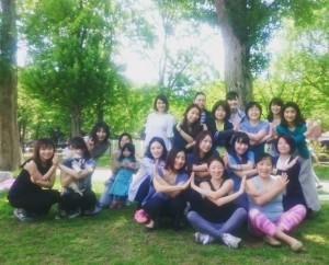 駒沢公園ヨガ ココロもカラダもスッキリリフレッシュ! @ 駒沢公園