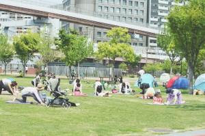 神戸で外ヨガ(三宮) @ みなとのもり公園 | 神戸市 | 兵庫県 | 日本