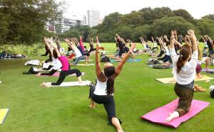 [17Y4] High 5 elements yoga @ パシフィコ横浜臨港パーク | 横浜市 | 神奈川県 | 日本