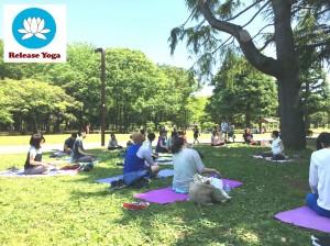 0624 代々木公園で朝ヨガ / Yoga at Yoyogi Park @ 代々木公園