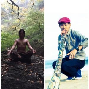 SMILYディジュリドゥx倍音瞑想ヨガ@代々木公園  @ 代々木公園